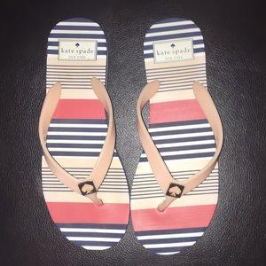 LN Cute Kate Spade ♠️Flip Flops Size M (7-8)